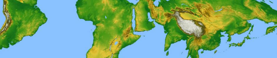 Asien - Afrika - Südamerika