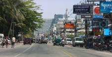 Beach Road in Pattaya