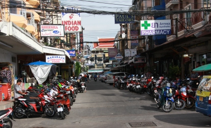 Mopeds, das Hauptfortbewegungsmittel