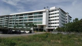 """unser"" Appartementhaus (""Condo""minium) - The Park Condo, Jomtien / Pattaya"