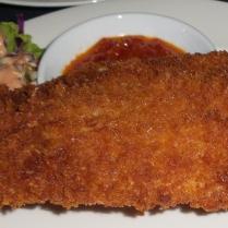 frittierte Seebrasse (nix für mich, Heike liebt es...)