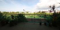 unser Balkon - sehr schöner Blick