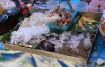 noch etwas mehr Fisch - auf dem Markt gibt es mehr als genug davon