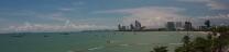 Pattaya Beach - nördliche Bucht