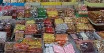 und auch die Süßigkeiten-Liebhaber kommen nicht zu kurz