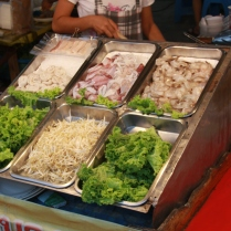 Meeresfrüchte in allen Konsistenzformen