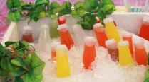 noch ein fruchtigen, kühlen Drink