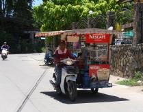 eine mobile Garküche