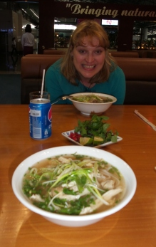 mit Suppe (Pho Gai)
