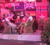 so sieht das beispielsweise aus in einer Beer Bar