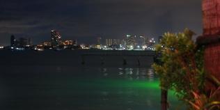 Blick in die Bucht von Pattaya