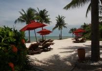 und ein sehr eleganter Strand