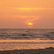 und der Sonnenuntergang lässt nicht lange auf sich warten