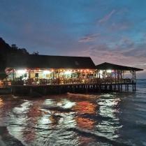 und dann doch das richtige Strand-Restaurant gefunden