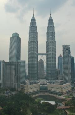 schon besonders, die Petronas Towers