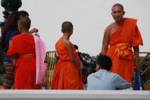 Mönche sind überall unterwegs