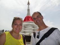 wir am wesentlichen Monument der Insel (wie hieß es noch?)