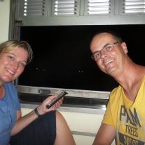 noch 1,5 Stunden mit der Bahn - Ayutthaya hat uns sehr gut gefallen!