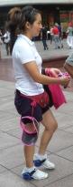Rollschuhe zum Unterschnallen - hier ein Verkaufsschlager