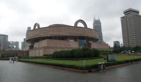 Shanghai Museum - gut für einen (der vielen) regnerischen Tage