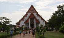 eines der zentralen Monumente in Ayutthaya
