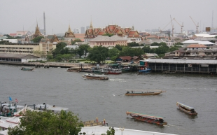 guter Blick über Bangkok (hier: auf den Kaiserpalast)