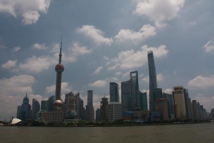 Skyline Shanghai/Putong bei Tag