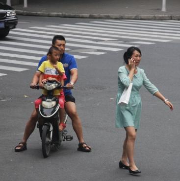 Auf den Straßen gibt es keine Regeln