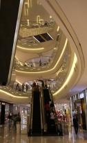 Einkaufs-Malls - auch hier sehr elegant