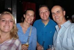 ... mit Bruder/Schwager Knut und Schwägerin Christine