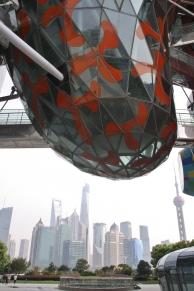 Shanghai hat auch ganz frische Stadtteile: North Bund Green Land