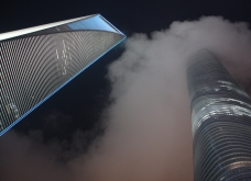 World Financial Center und der Shanghai Tower