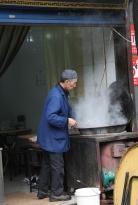 Suppentöpfe kochen überall