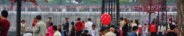 Da sind viele Chinesen unterwegs - ein gutes Ausflugsziel