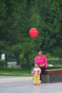 Die Großeltern sind oft in der Elternrolle unterwegs (während die Eltern arbeiten gehen)