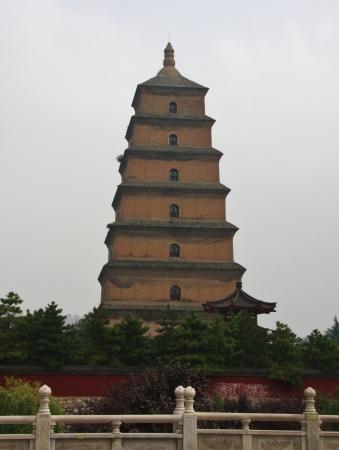 Eine der Attraktionen von Xi'an: die Wildgans-Pagode