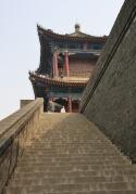 Zurück in Xi'an: kleiner Ausflug auf die (in China einzige unversehrte) Stadtmauer