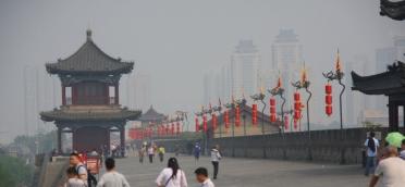 Etwas Smog gefällig - so ganz ohne gibt's das nicht in den chinesischen Städten