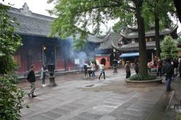Wenshu Tempel - Tempel sind immer ein Ort der Ruhe
