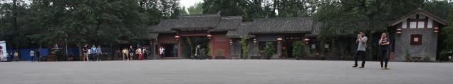 etwas chinesische Architektur
