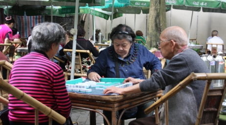 Mahjong - das Spiel im Teehaus