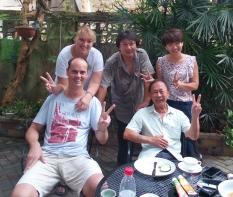 """wir in """"Helenes Home"""" - super Unterkunft mit netten Gästen"""