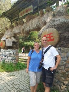 Besuch am Wasserfall