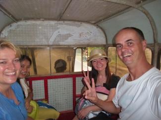 Rückfahrt nach Guilin: noch eine Minibus-Fahrt