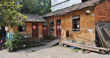 Haus fern ab von den Touristenwegen