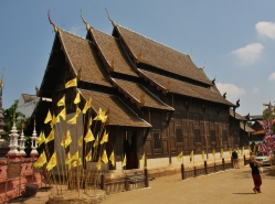 """Chiang Mai ist die Stadt der """"1000 Wats"""" (nicht """"Watt"""" ... adR :-))... das sind die buddhistischen Tempel)"""