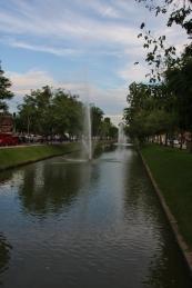 um den Stadtkern von Chiang Mai verläuft ein Kanal