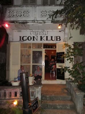"""hier gab es so manchen Absacker - bei """"Liz"""" im """"Icon Klub"""""""