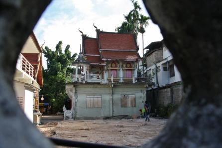 Wats (buddhistische Tempel), überall zu sehen, auch n den Hinterhöfen von Chiang Mai