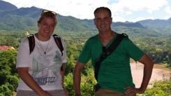 auf dem Mount Phousi (toller Ausblick)